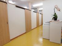 施術室への入り口